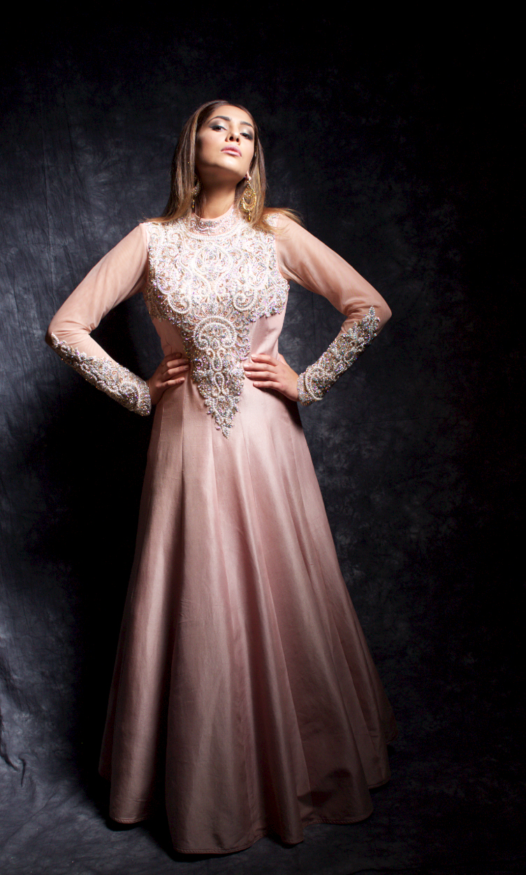 Pearl Gown | Payals Collection Dress – Payals Boutique Asian Bridal ...